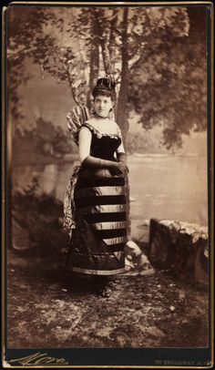 Mora (b. 1849). Mrs. William Seward Webb (neé Lila O. Vanderbilt). 1883. Museum of the City of New York. 41.132.63