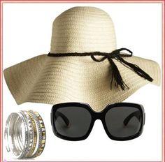 Floppy Beach Hats