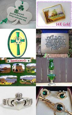 ~ St. Patrick's Day ~ Irish Sampler ~ Celtic keepsakes ~  by Terese on Etsy--Pinned with TreasuryPin.com