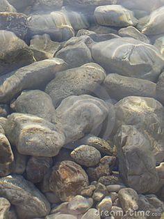 Rocks Underwater