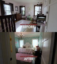 #Dreambuilders designer Erinn's re-designed #bedroom. #TeamRed #design #renovation #homeimprovement