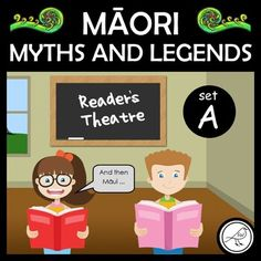 Reader's Theatre scripts for four popular Māori Myths and Legends. THE STORIES:How Māui Slowed the Sun (6 characters)Rata and the Tōtara Tree (4 characters)Pania of the Reef (4 characters)The Birth of Māui and How Māui Found his Mother (5 characters) INCLUDED:ScriptsCharacter CardsSkills... School Resources, Classroom Resources, Teaching Resources, Maori Words, Readers Theater, Teacher Notes, Reading Fluency, Classroom Language, Classroom Environment