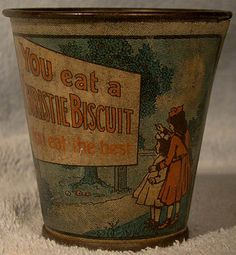 Antique Christie's Biscuit Zephyr Cream by FionaKennyAntiques