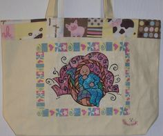 Baby in a Basket Diaper Tote by KidBabies on Etsy, $45.00