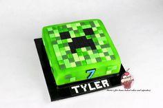 Minecraft creeper cake - Cake by Maria's