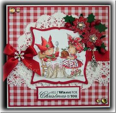 Lili of the Valley Beautiful Christmas Cards, Christmas Characters, Christmas Inspiration, Christmas Ideas, Copics, Xmas Cards, Scrapbooking Layouts, Homemade Cards, Cardmaking