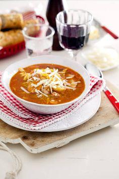 tomat och löksoppa