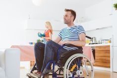 Exercises To Try At Home For People With Disabilities | The Huffington Post>>> See it. Believe it. Do it. Watch thousands of spinal cord injury videos at SPINALpedia.com Chair Exercises, Spinal Cord Injury, Disabled People, Resistance Band Exercises, Loose Weight, Physical Fitness, No Equipment Workout, Workout Programs, At Home Workouts