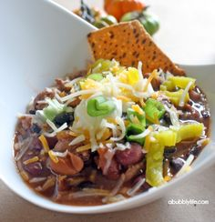 How To set up a Chili Bar for the Superbowl!