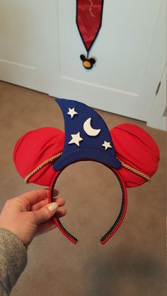 Sorcerer Inspired Mouse Ears by DoodadsByDesign on Etsy