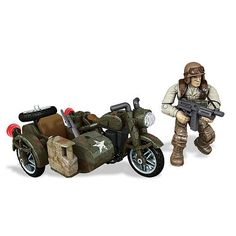 "Mega Bloks Call of Duty Legends Sidecar Pursuit - Toys""R""Us"