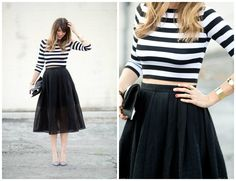 Looks com Camisa Listrada - Inspire Blog