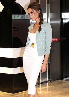 Le look d'été chic de Victoria Beckham