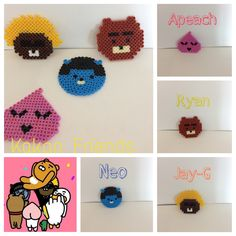 Made by Perler Beads. It is easy and it is cute!!