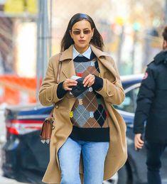 Irina Shayk se inspira en Blair Waldorf (Gossip Girl) en su último look