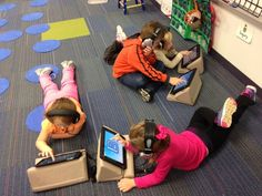 How Teacher Terra uses PadPillow Pillow Stand for iPad in the classroom