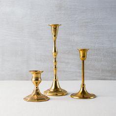 Antique Brass Candlestick