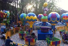 El Parque de Atracciones de Madrid estrena Nickelodeon Land, una nueva zona para los más pequeños #turismoenfamilia Atracción Los Globos Locos con Botas de 'Dora la Exploradora' como protagonista La marca de entretenimiento Nickelodeon
