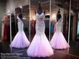 Lilac Beaded Mermaid Sweetheart Neckline Open Back Prom Dress - Rsvp JOL - Long Gown - Rsvp Prom and Pageant Atlanta, Georgia GA - 1