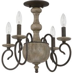 Castile with rustic black finish, extra large semi flush mount: castile is a robust design with sweeping curves and unique coloring. The fixture body is c...