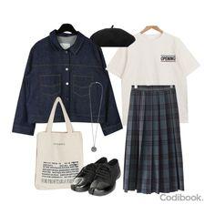 Teen Fashion Outfits, Look Fashion, Korean Fashion, French Fashion, Fashion Hacks, Classy Fashion, Fashion Tips, Hijab Fashion, Men Fashion