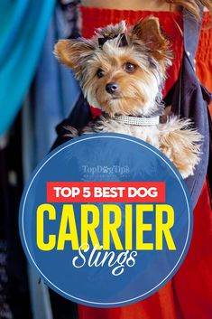 They aren't as popular as dog backpacks, but some of the best dog carrier slings can actually be more comfortable for you and your canine companion. The best dog carrier sling will wrap across your body and allow your dog to rest gently and comfortably inside. Most types of carrier slings for dogs give you the ability to carry your pet on your front, side or back.
