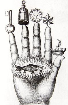 Hand: occult image
