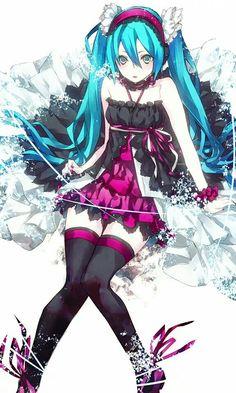 Miku #anime #animegirl #vocaloid