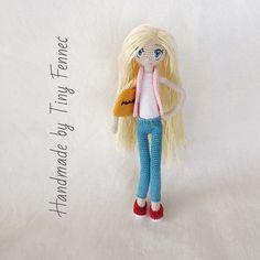 Amigurumi doll in jeans. (Inspiration).