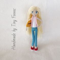 Amigurumi doll in jeans. (Inspiration).