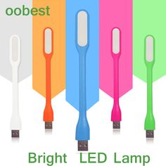 oobest Silica Gel Multicolor Mini Book light Reading Lamp USB LED Light Computer Lamp for Notebook PC Laptop Reading Night  Price: 1.12 USD