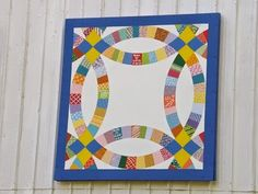 wedding ring quilt barn | Barn Quilts and the American Quilt Trail