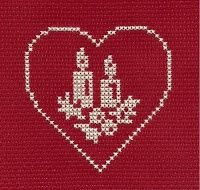 another cross stitch addict. Cross Stitch Christmas Cards, Xmas Cross Stitch, Cross Stitch Heart, Cross Stitch Cards, Cross Stitch Borders, Christmas Cross, Cross Stitch Designs, Cross Stitching, Cross Stitch Embroidery