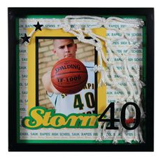 Crafts Direct Project Idea: Basketball 12x12 Shadow Box
