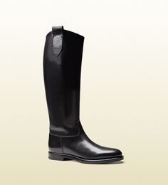 men's leather riding boot from equestrian collection