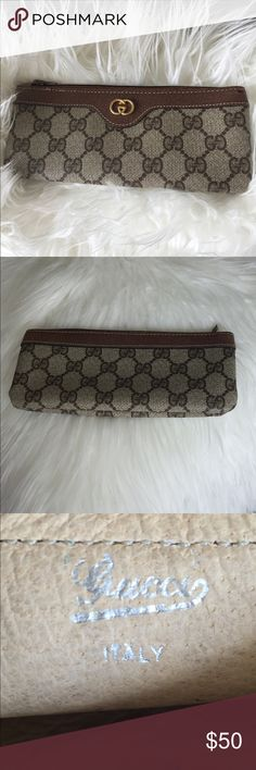 Authentic Gucci Coin Purse Leather coin purse Gucci Bags Wallets