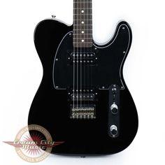 Brand New Fender Standard Telecaster HH Tele Black Demo