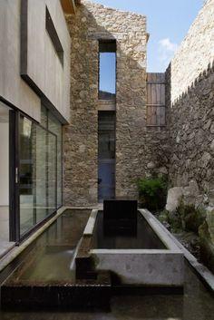 Finca en Extremadura Ábaton Arquitectura Diseño Interiores Minimalista Minimal Design Architecture More with less