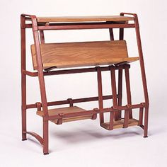 Jacques Adnet, Bookcase for Hermes, c1950.