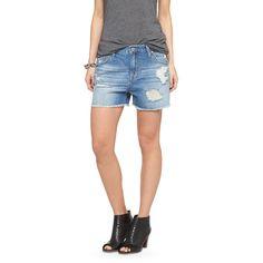 Women's Low Rise Midi Jean Short