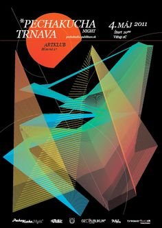 PechaKucha Night Trnava vol. 1 poster by Martin Macada
