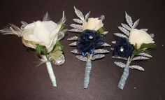 Groom's and Best Men's Boutonnieres