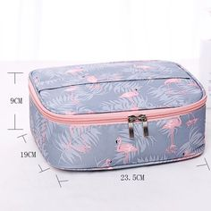 Neceser waterproof Women Makeup bag Cosmetic bag Case Travel Make Up Toiletry bag Organizer Storage pouch set box professional - TakoFashion - Women's Clothing & Fashion online shop Storage Bags For Clothes, Bag Storage, Diy Dog Bag, Girls Luggage, Fabric Bags, Kids Bags, Bag Organization, Casual Bags, Toiletry Bag