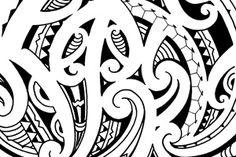 Description : This half sleeve tattoo is Maori kirituhi, lots of flowing koru patterns and intricate fills. Maori Tattoo Patterns, Maori Patterns, Polynesian Designs, Maori Tattoo Designs, Trendy Tattoos, Tribal Tattoos, Maori Tattoos, Borneo Tattoos, Samoan Tattoo