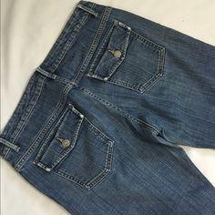 "Banana republic Great shape 32"" long Jeans"