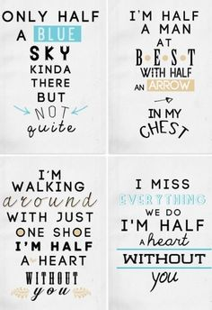 letras de canciones de one direction tumblr - Buscar con Google