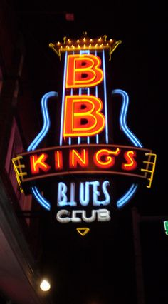 Memphis, TN : B.B. King's on Beale   We were there, was it ever fun. BB King is one of my favorites
