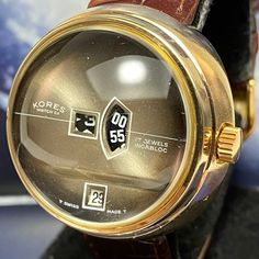 Tourbillon Watch, Expensive Watches, 3 O Clock, Vintage Watches For Men, Crown, Pocket Watches, Brown Leather, Jewels, Times