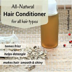Get soft, smooth, and shiny hair without nasty chemicals. Make this homemade hai… Get soft, smooth, and shiny hair without nasty chemicals. Make this homemade hair conditioner with just one magic ingredient-marshmallow root How To Make Conditioner, Homemade Hair Conditioner, Natural Hair Conditioner, Homemade Shampoo, Natural Shampoo, Homemade Products, Homemade Facials, Leave In, Aloe Vera