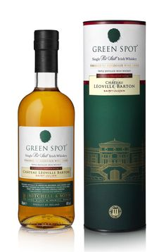 Irish Distillers launch a Bordeaux wine cask finished variant of Green Spot… Scotch Whisky, Malt Whisky, Whisky Bar, Cigars And Whiskey, Bourbon Whiskey, Best Irish Whiskey, Irish Whiskey Brands, Leoville Barton, Wine Cask